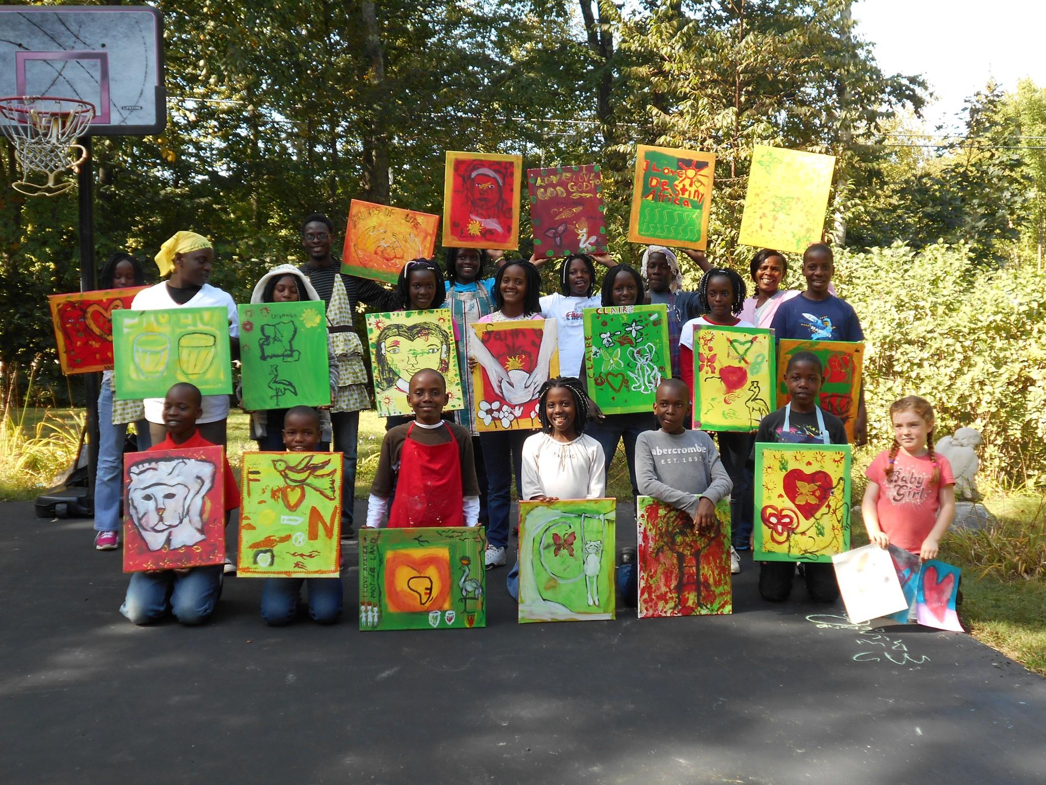 """Africa"" paintings"